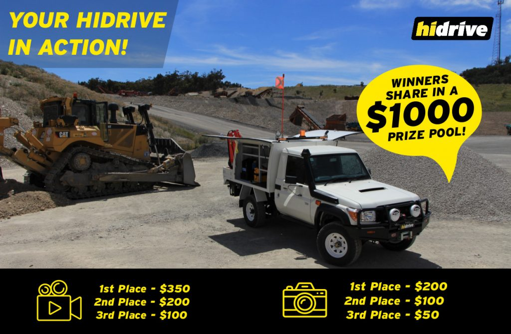 Competition - We want to see how you use your Hidrive Service Body!