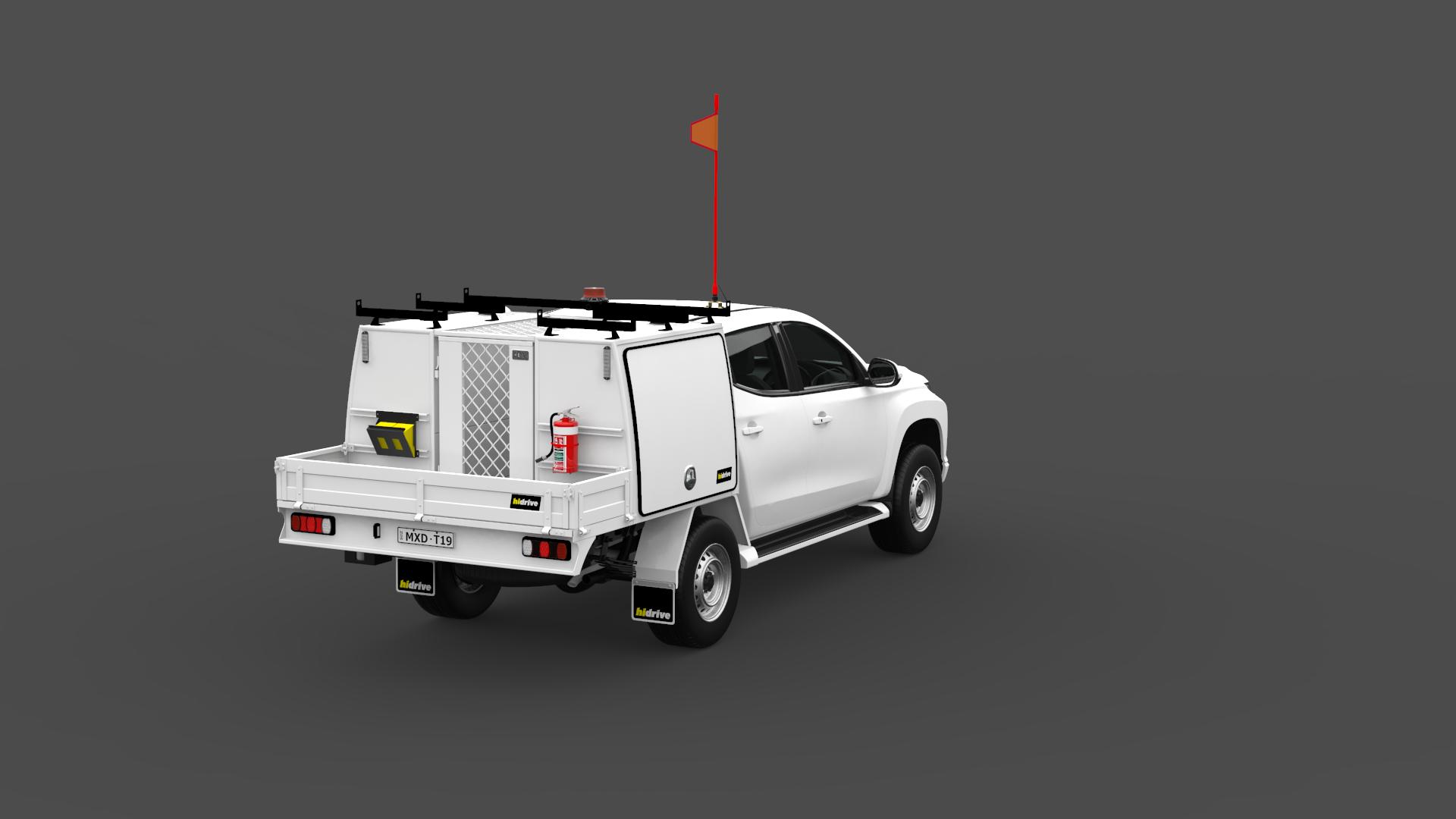 Mitsubishi Triton Double Cab Tool Module