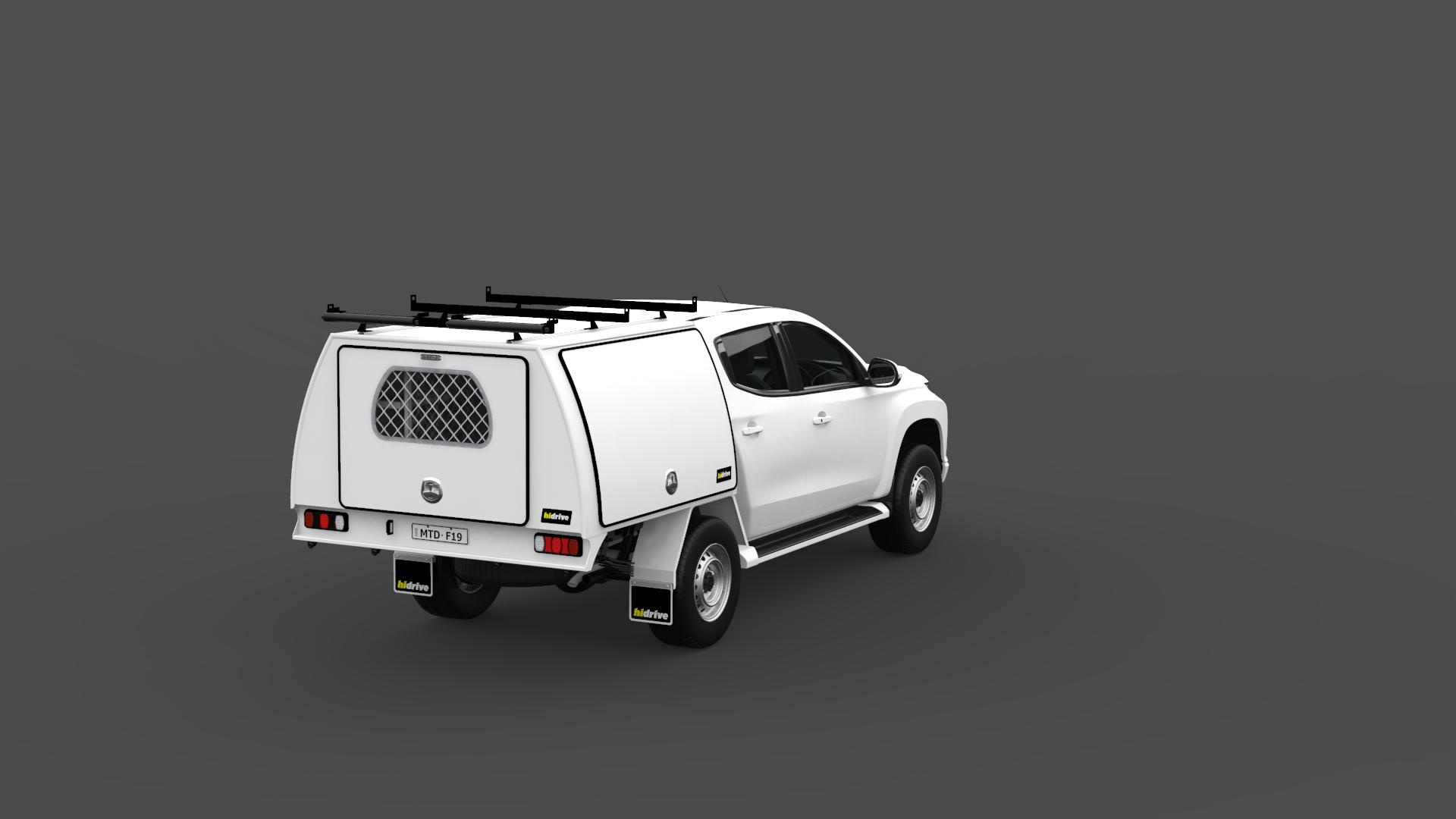 Mitsubishi Triton Double Cab Full Canopy