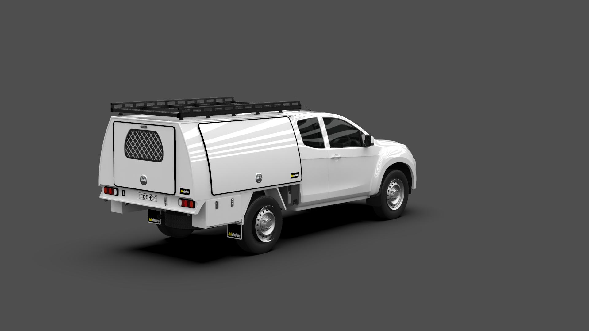 Isuzu D-Max Space Cab Full Canopy