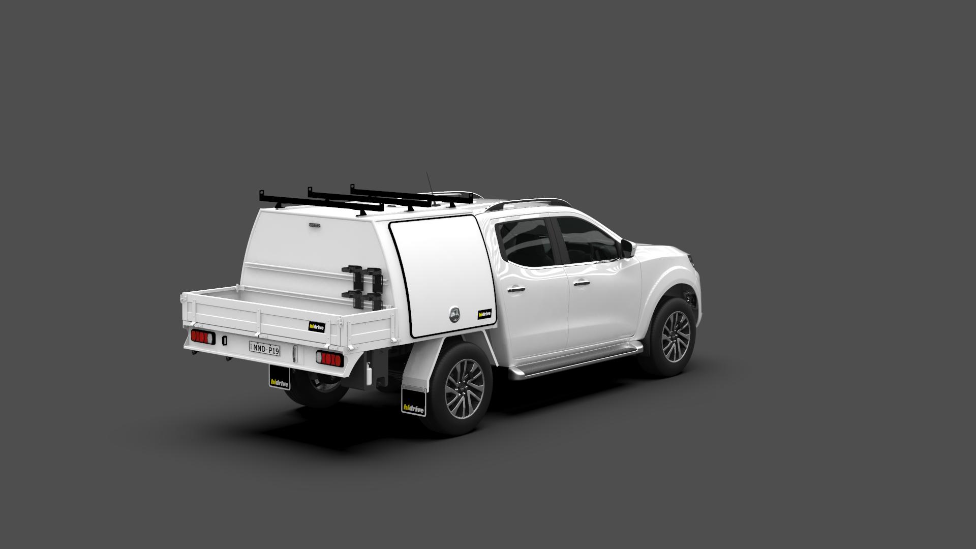 Nissan Navara Dual Cab Part Canopy