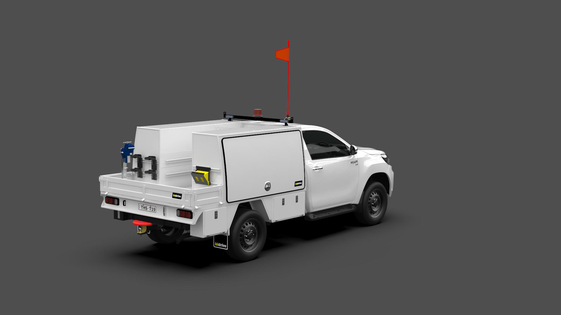 Toyota Hilux Single Cab Tool Module