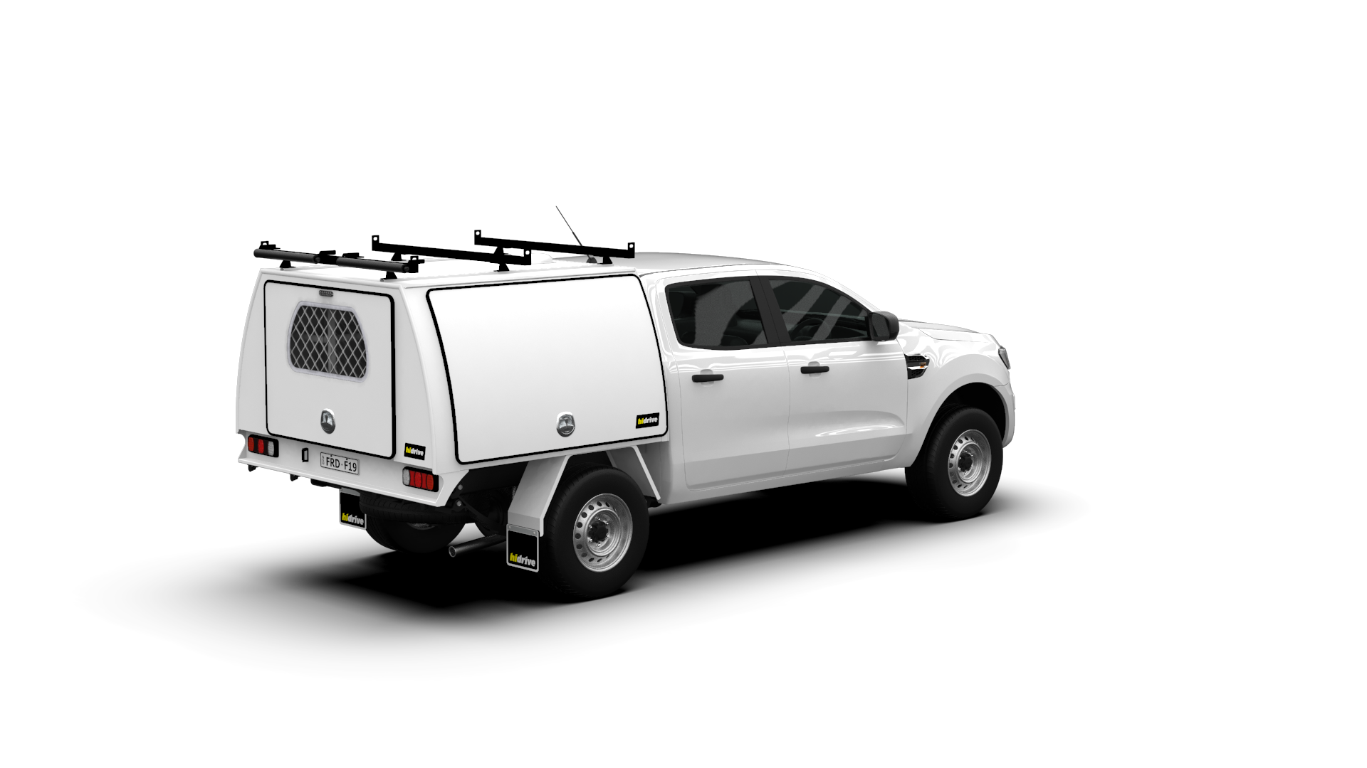 Ford Ranger Double Cab Full Canopy