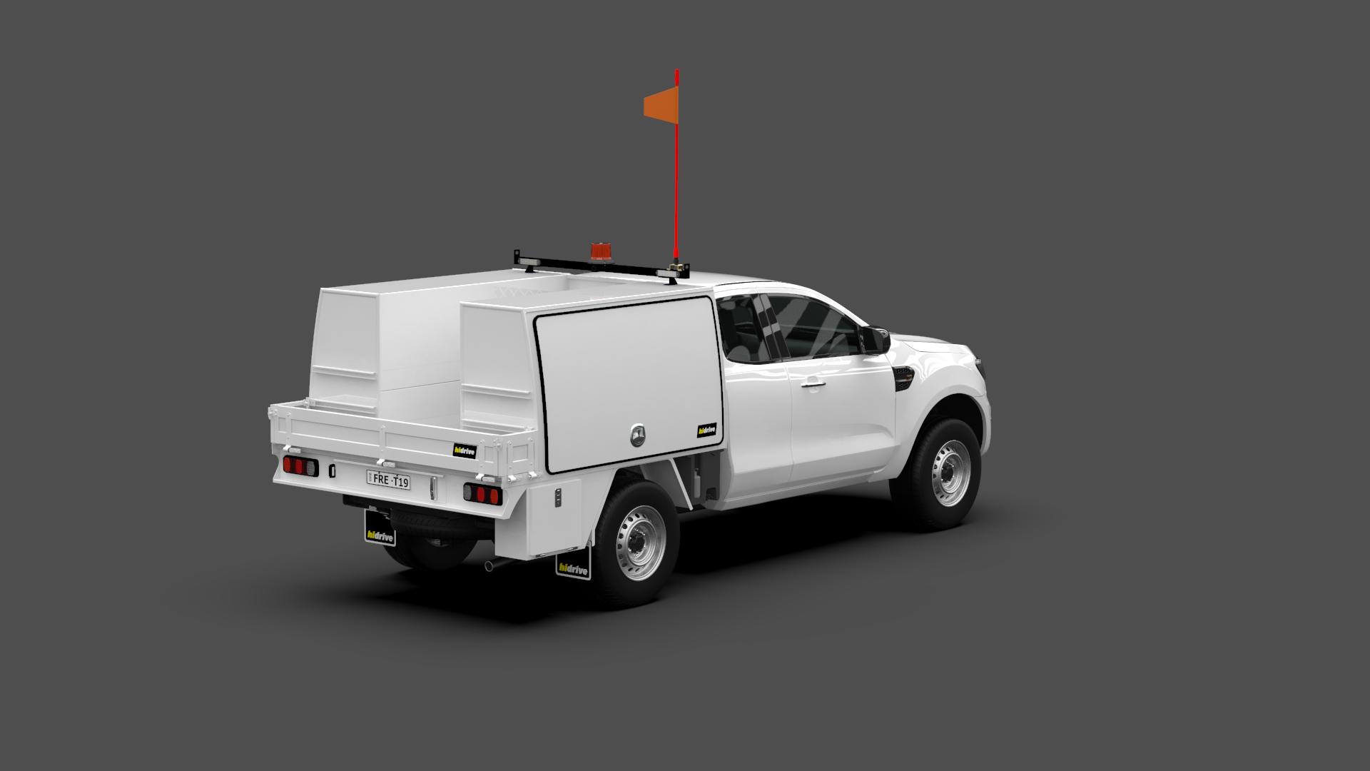 Ford Ranger Super Cab Tool Module