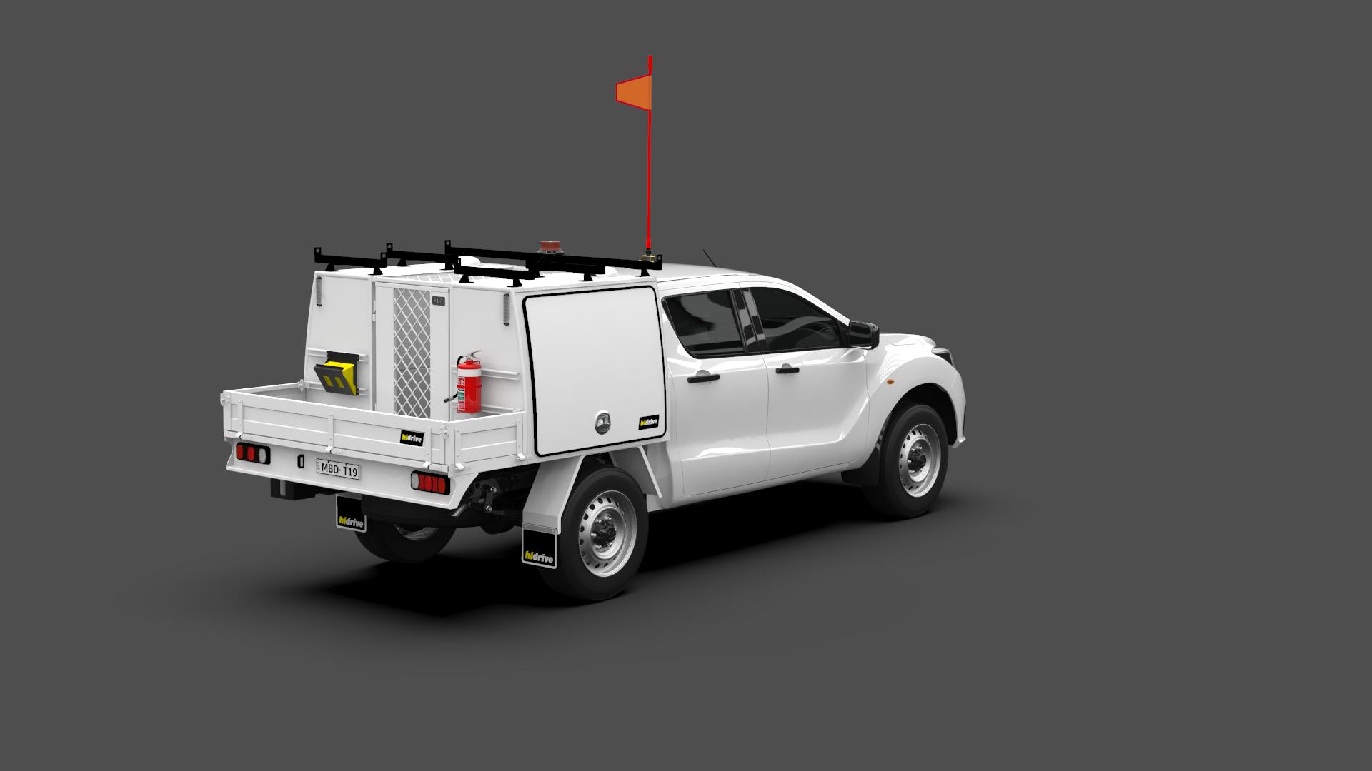 Mazda BT50 Dual Cab Tool Module