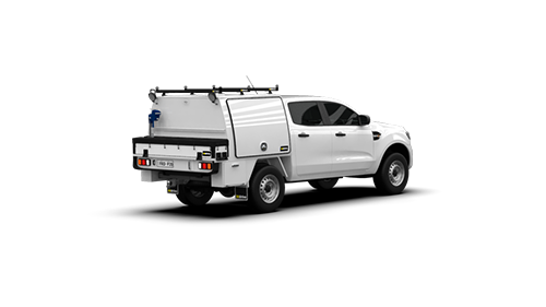 Ford Ranger Double Cab Part Canopy