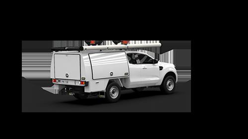 Ford Ranger Super Cab Full Canopy