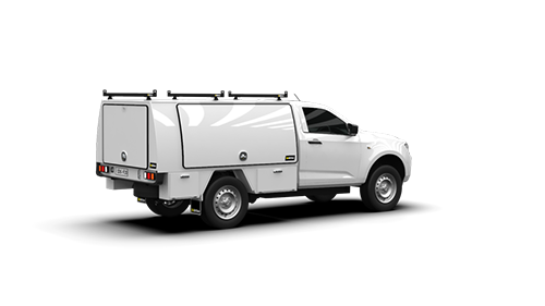 Isuzu D-Max Single Cab Full Canopy