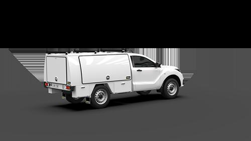 Mazda BT50 Single Cab Full Canopy