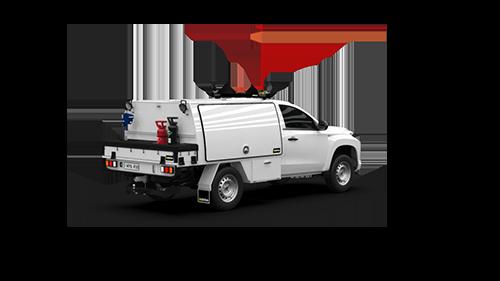 Mitsubishi Triton Single Cab Part Canopy
