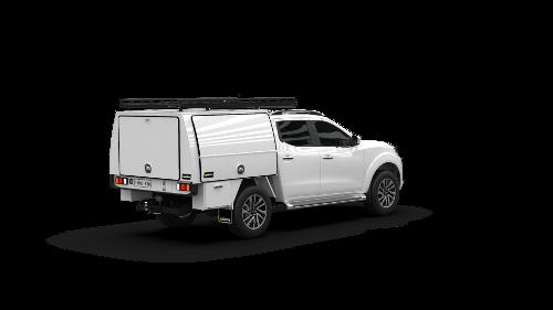 Nissan Navara Dual Cab Full Canopy