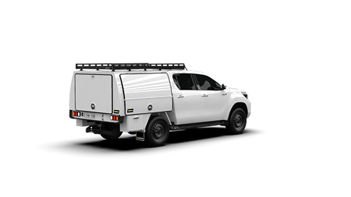 Toyota Hilux Double Cab Full Canopy