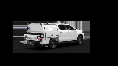 Toyota Hilux Double Cab Part Canopy