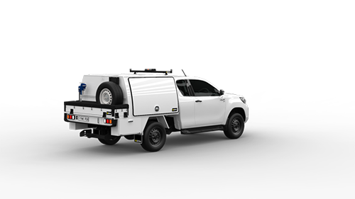 Toyota Hilux Extra Cab Part Canopy