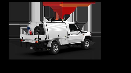 Toyota Landcruiser Single Cab Part Canopy