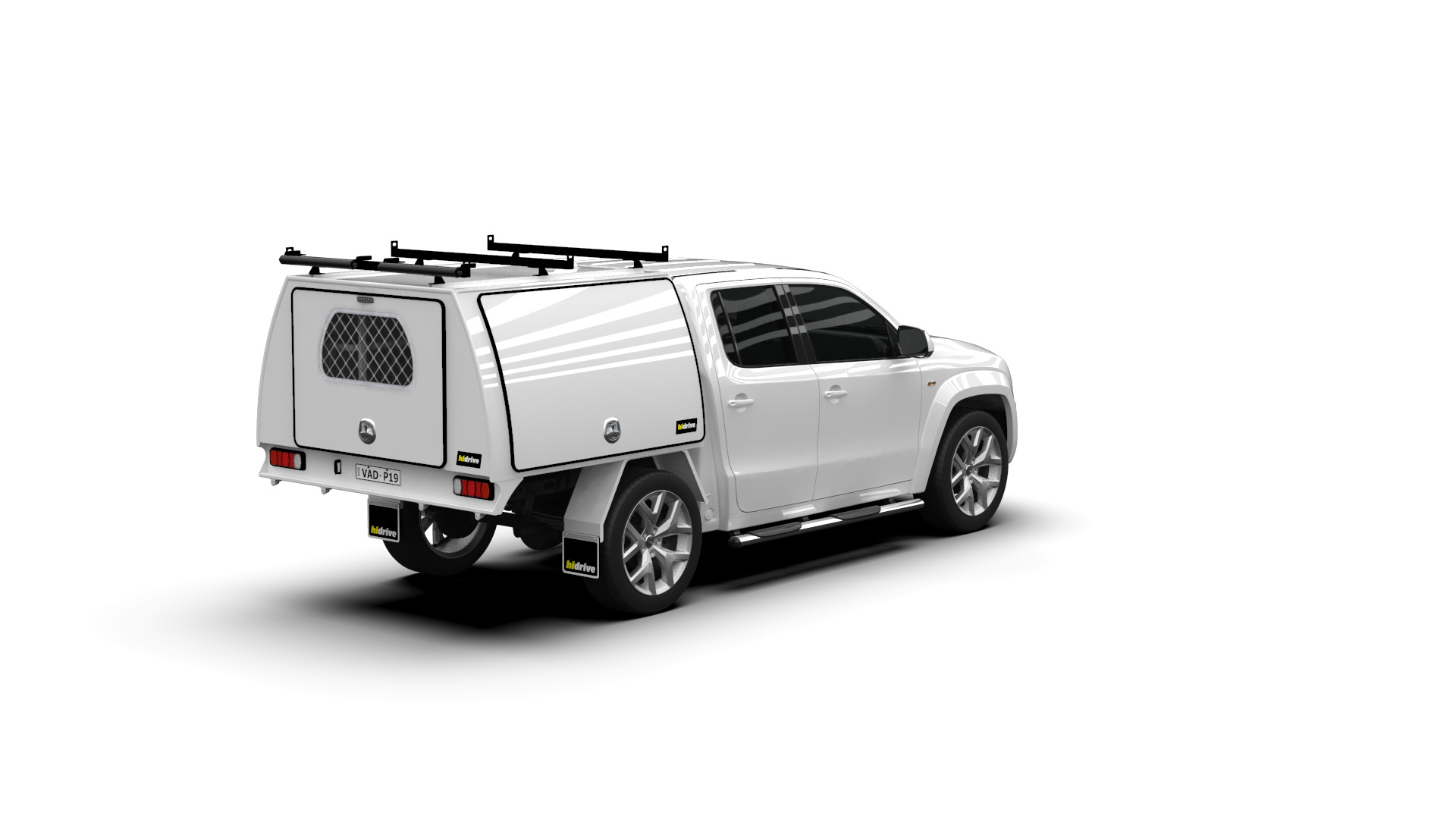 Volkswagen Amarok Dual Cab Full Canopy