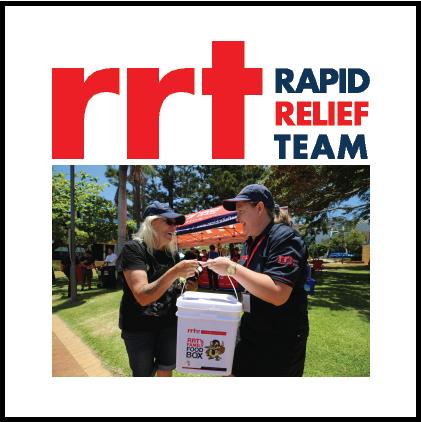 Hidrive sponsor Rapid Relief Team