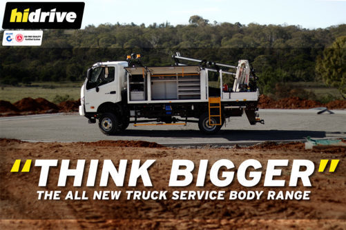 Truck Service Bodies - Think Bigger and Australian Made