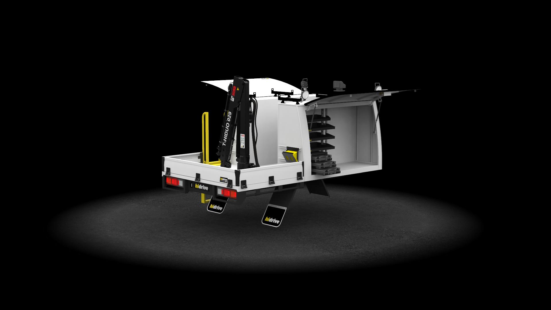 Truck Tool Module 2 Door