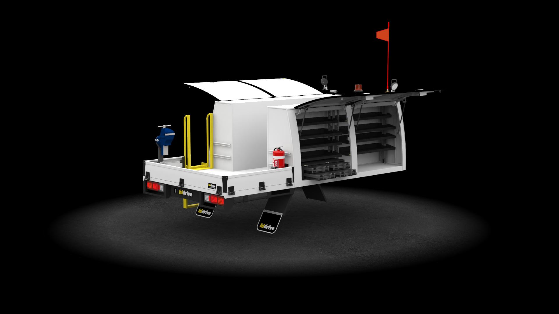 Truck Tool Module 4 Door