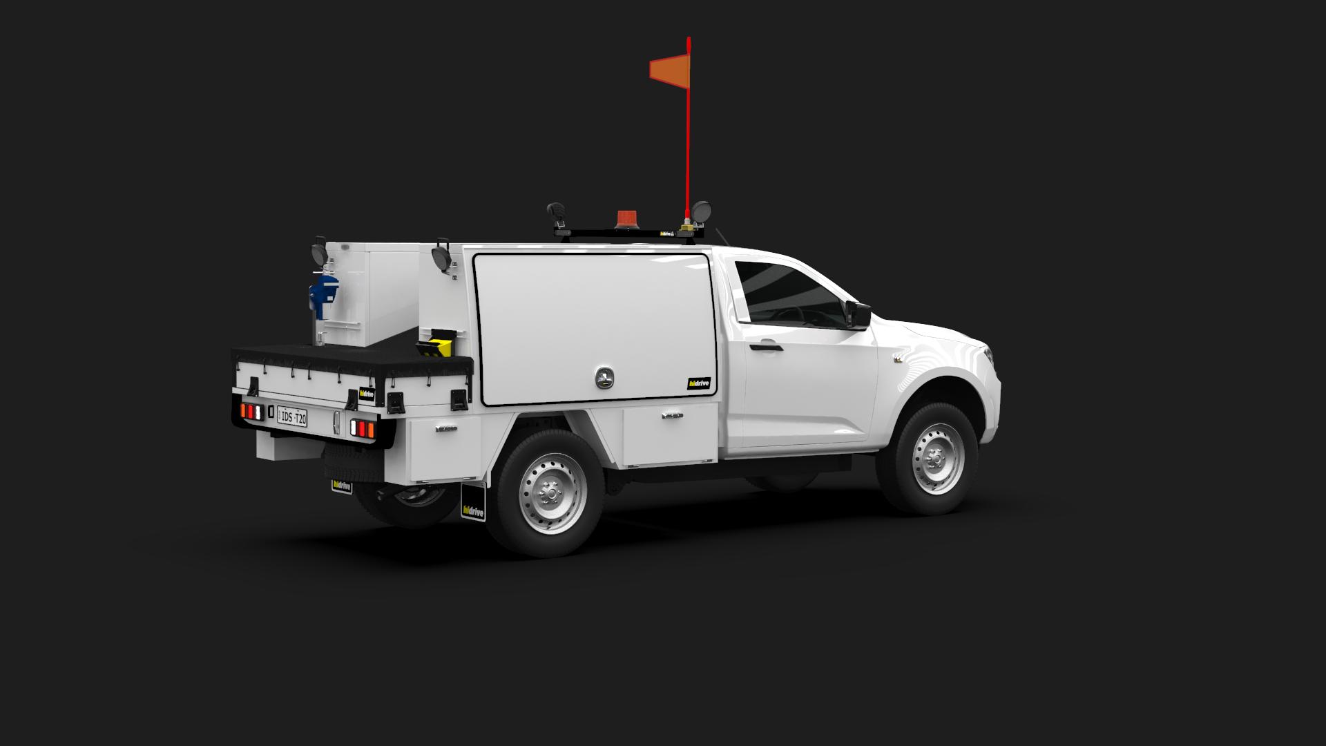 Isuzu D-Max Single Cab Tool Module