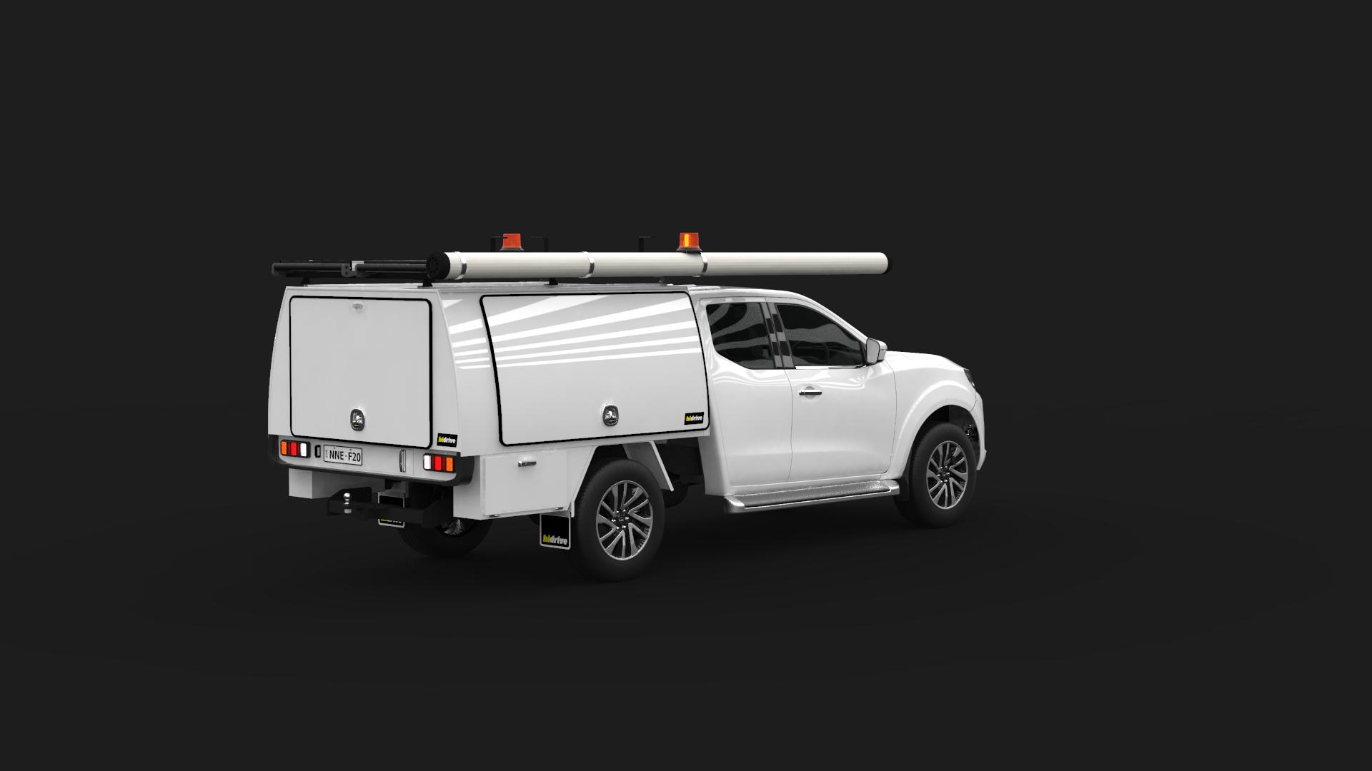 Nissan Navara King Cab Full Canopy