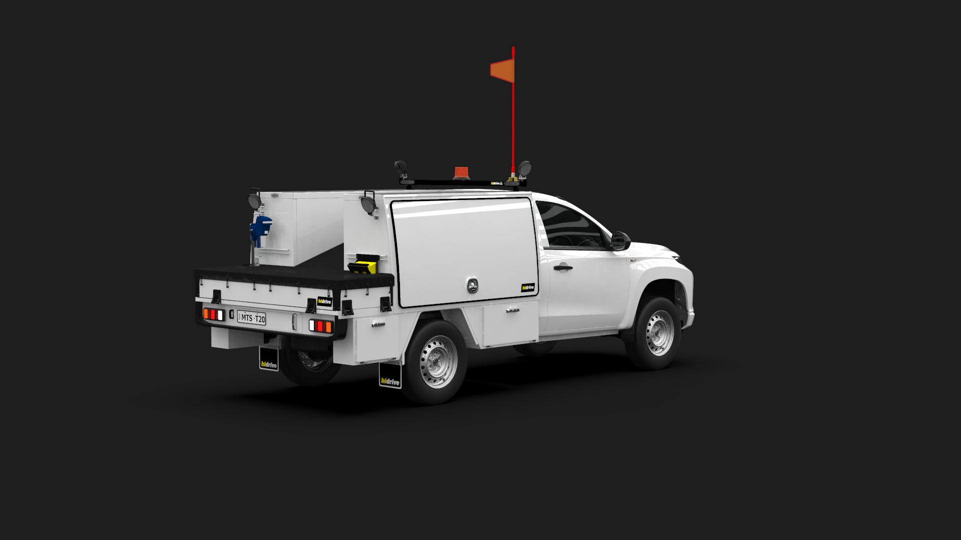 Mitsubishi Triton Single Cab Tool Module