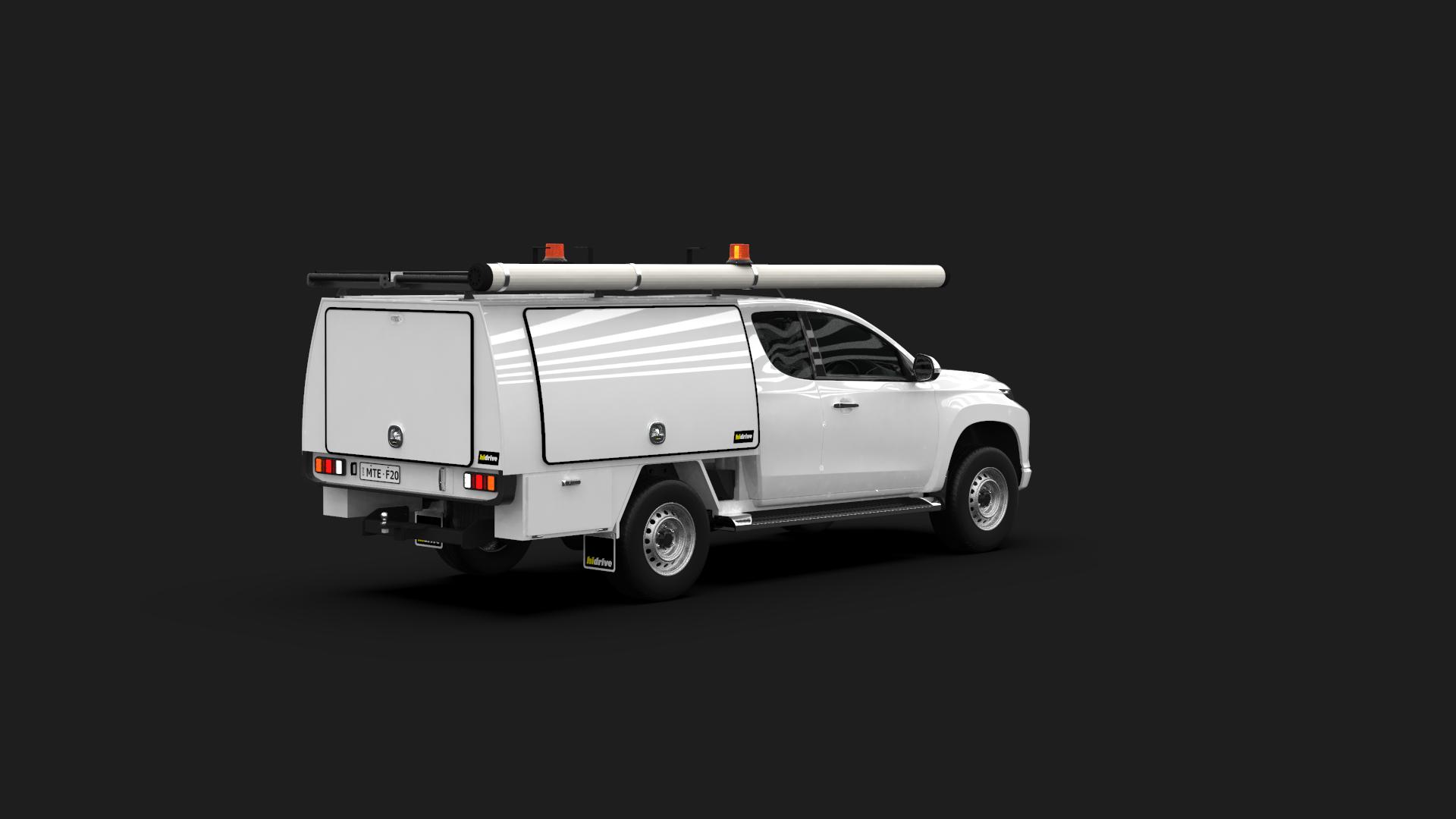 Mitsubishi Triton Club Cab Full Canopy