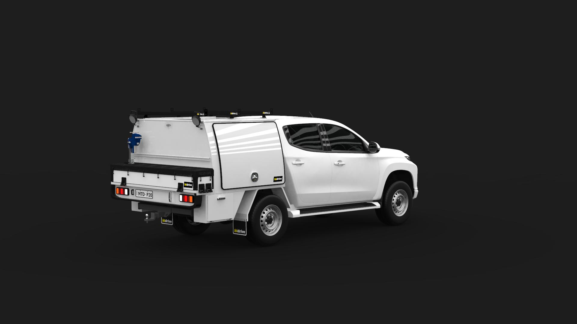 Mitsubishi Triton Double Cab Part Canopy