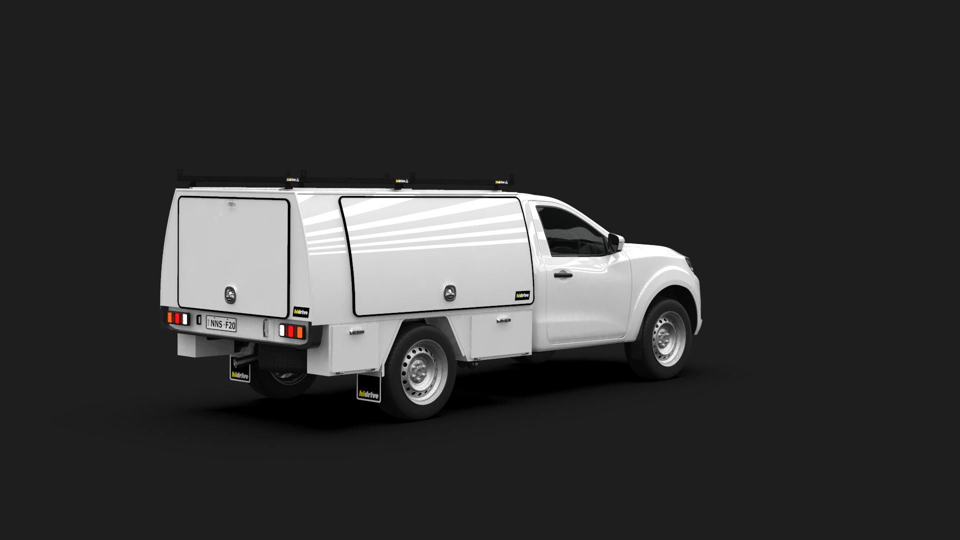 Nissan Navara Single Cab Full Canopy