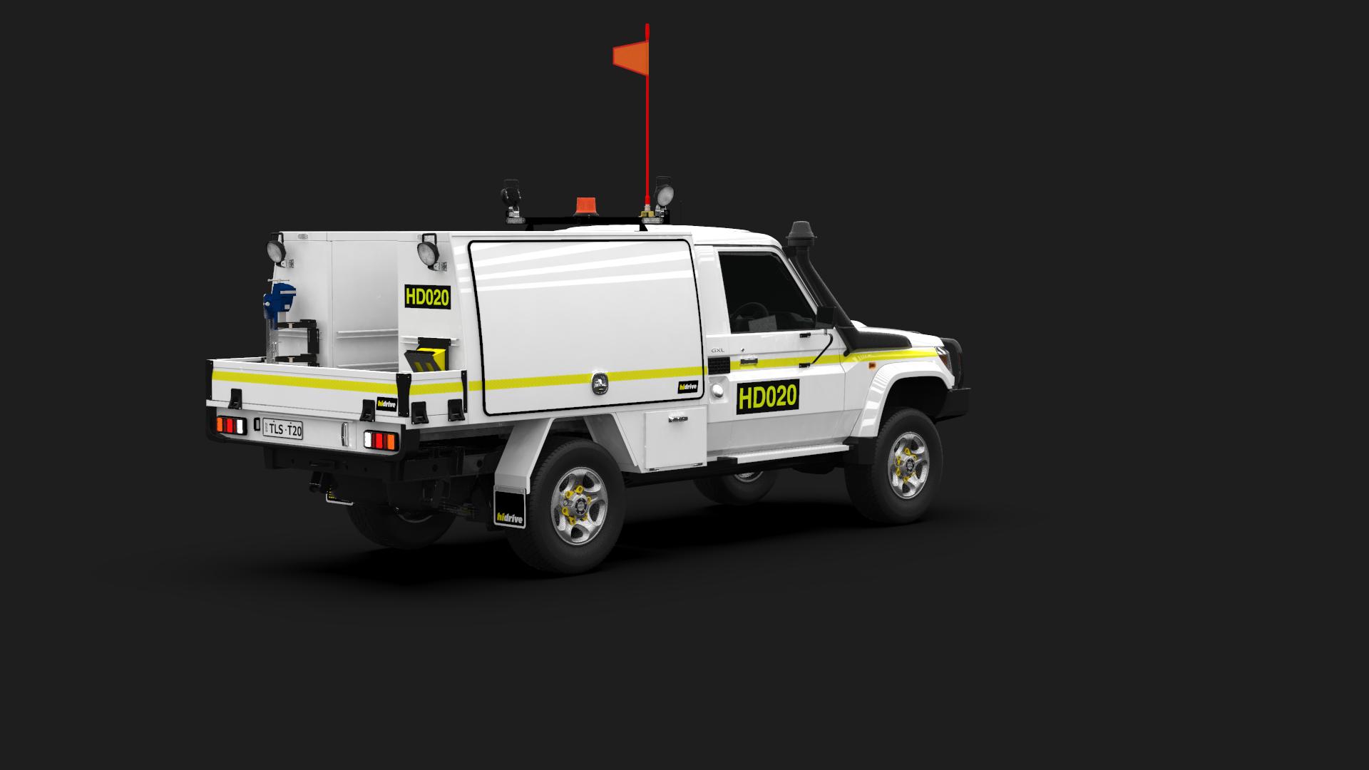 Toyota Landcruiser Single Cab Tool Module