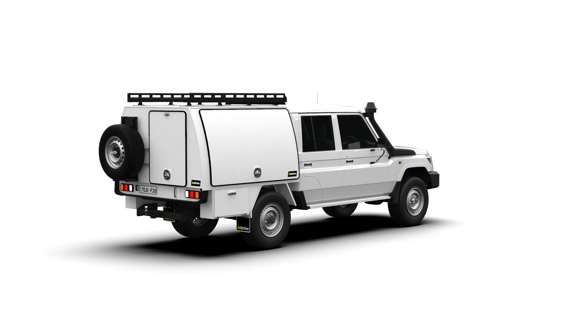 Toyota Landcruiser Double Cab Full Canopy