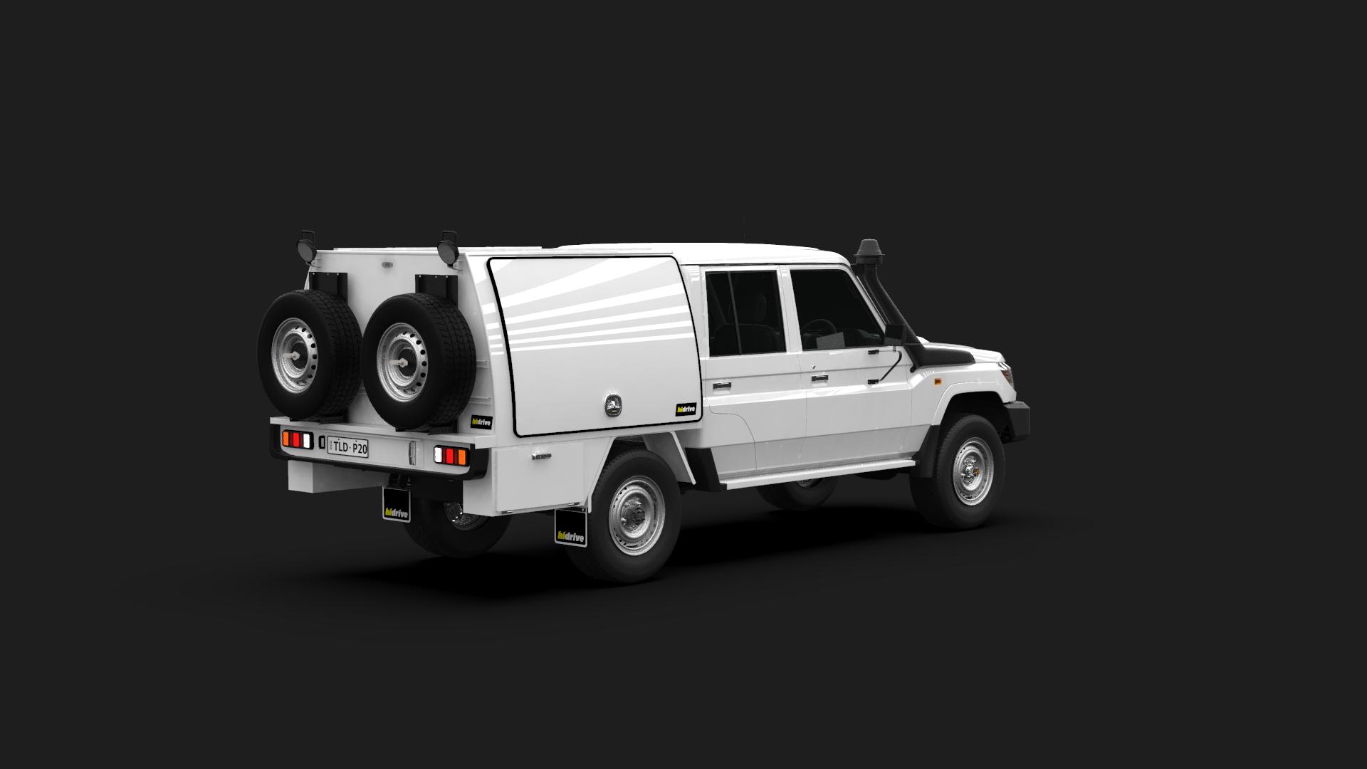 Toyota Landcruiser Double Cab Part Canopy