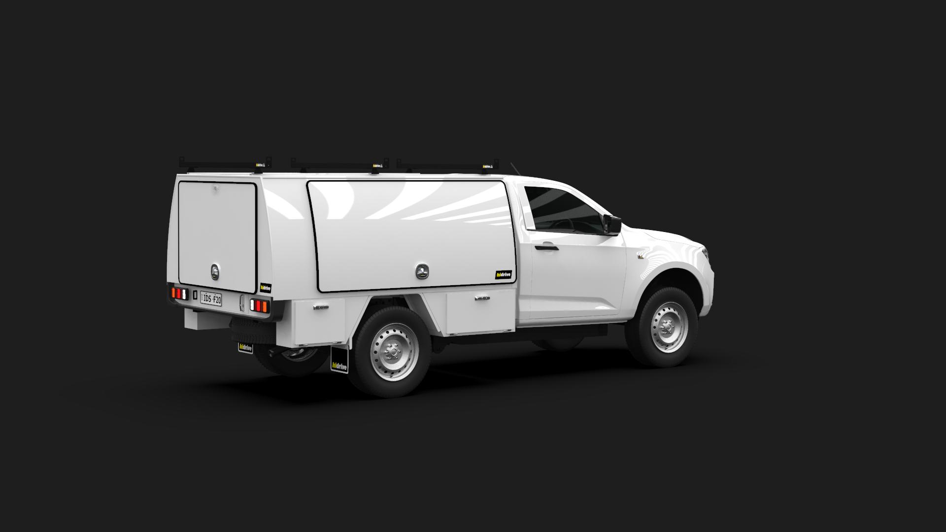 Isuzu D-Max Single Cab Full Canopy