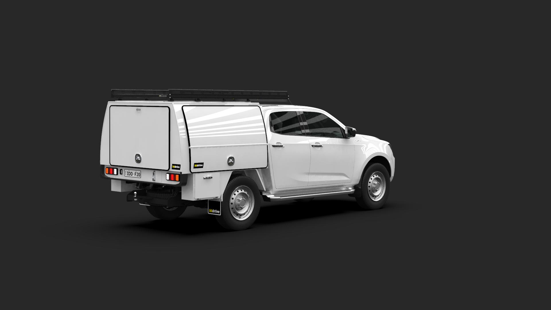 Isuzu D-Max Crew Cab Full Canopy