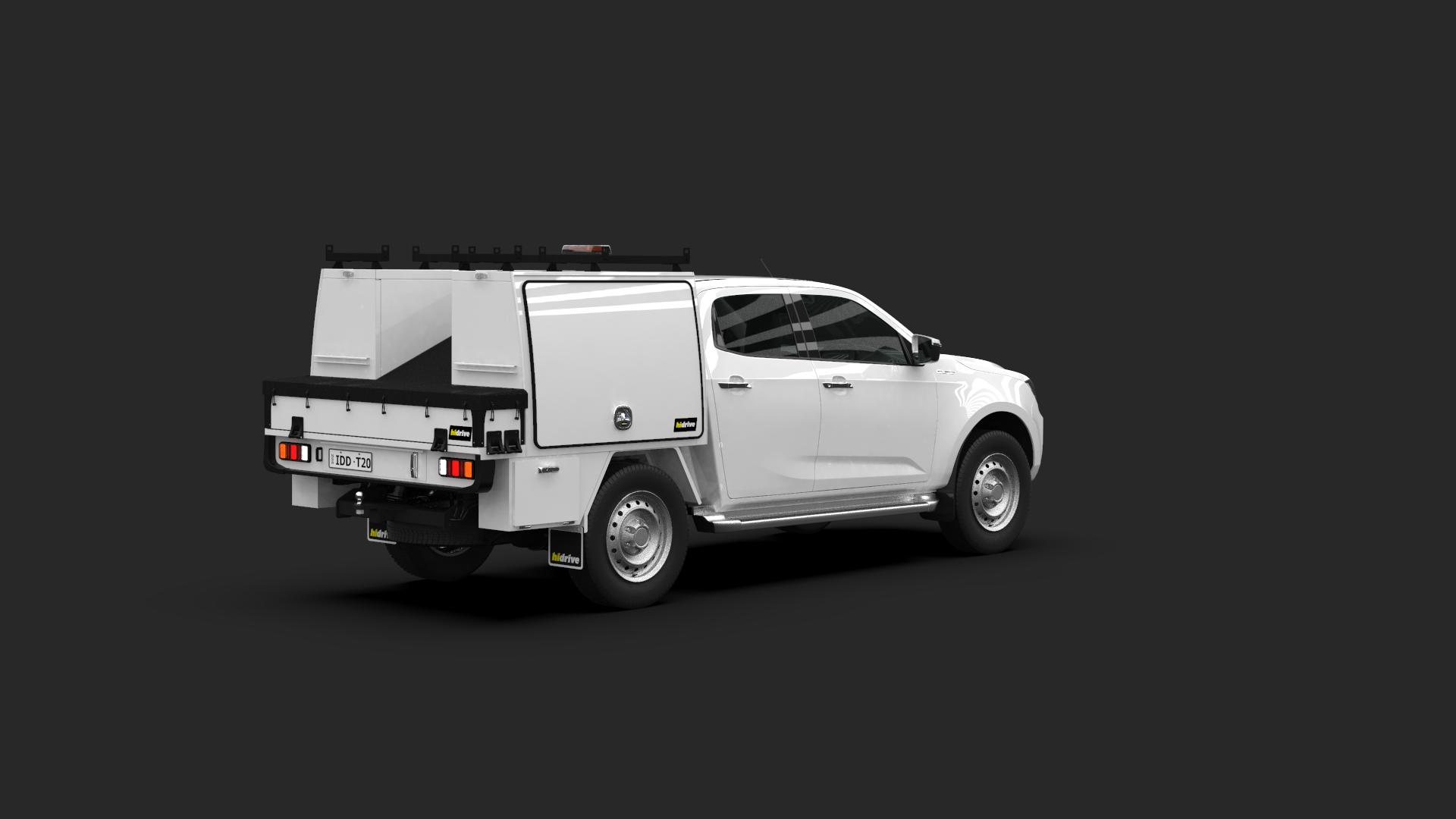 Isuzu D-Max Crew Cab Tool Module