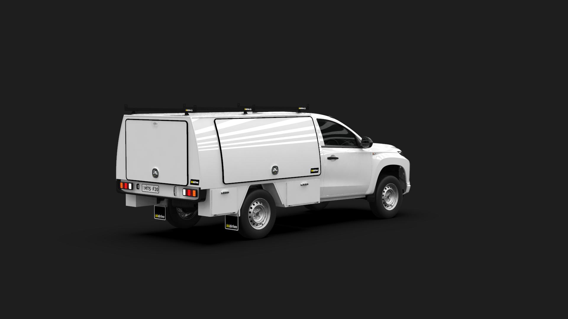 Mitsubishi Triton Single Cab Full Canopy