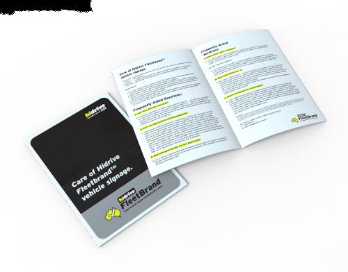 FleetBrand Care Booklet