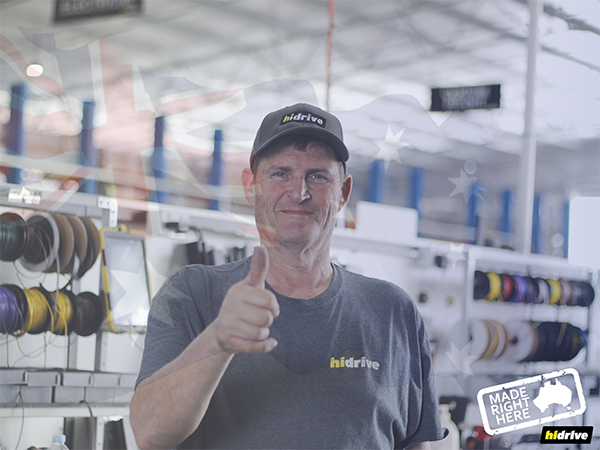 Australian Made reliability in our people, thumbs up!