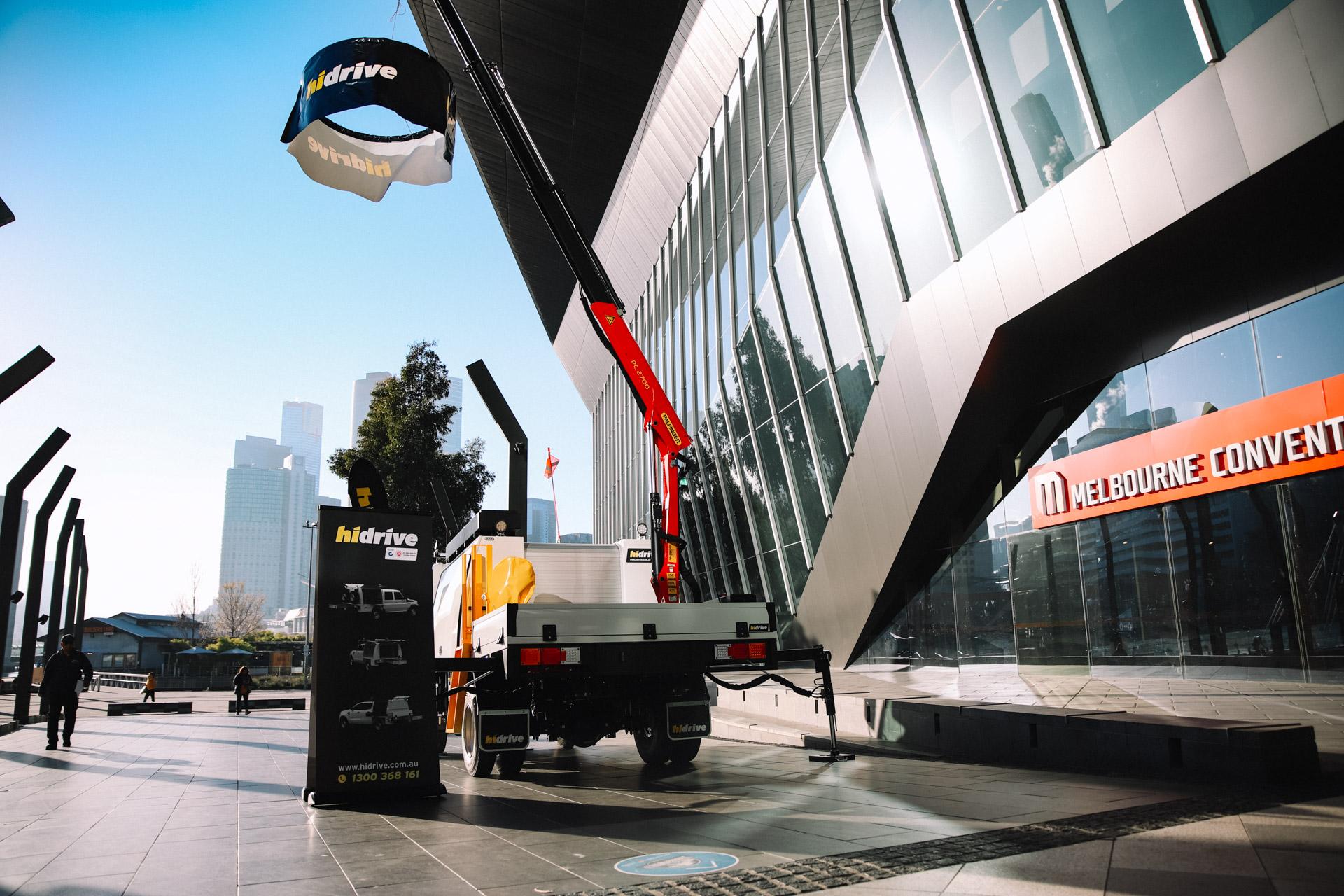 AfMA, 2021. Hidrive display truck.